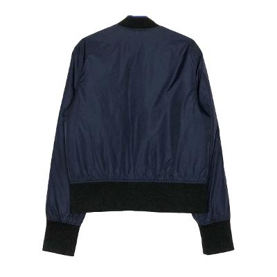 thick blouson jumper navy